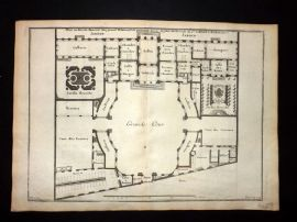 Vignola 1720 Architectural Plan and Gardens 96